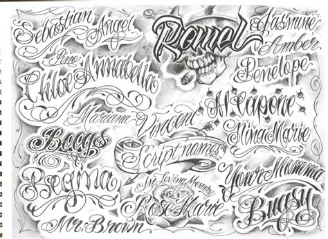 tattoo fonts chicano chicano style lettering fonts calligraphy