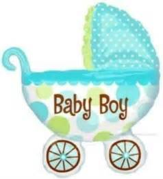 baby boy shower balloons baby boy carriage baby shower balloon baby shower