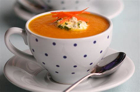 carrot and ginger soup carrot and ginger soup recipe goodtoknow