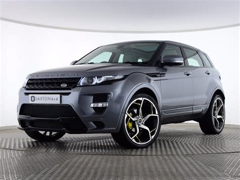 range rover evoque pure tech used 2012 land rover range rover evoque 2 2 sd4 pure tech