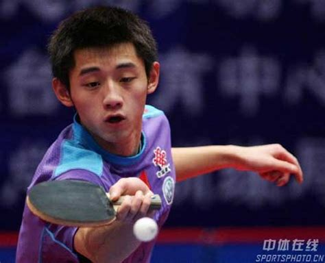 best table tennis player tabletennisdaily zhang jike player of the year 2011