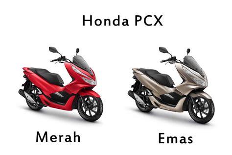 Pcx 2018 Emas by Honda Pcx Merah Dan Emas Paling Spesial Mutiara Motor Honda