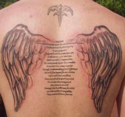 tattoos angel wings name middle angel wings tattoo angel wings tattoo ideas tatts