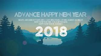 latest advance happy new year 2018 wishes quotes images