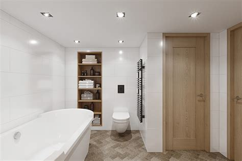 Bathroom Ideas With No Windows Inspiration 3 Fabulous Studio Apartments Arranged With A Stylish Loft Bedroom Showing A Luxurious Feel