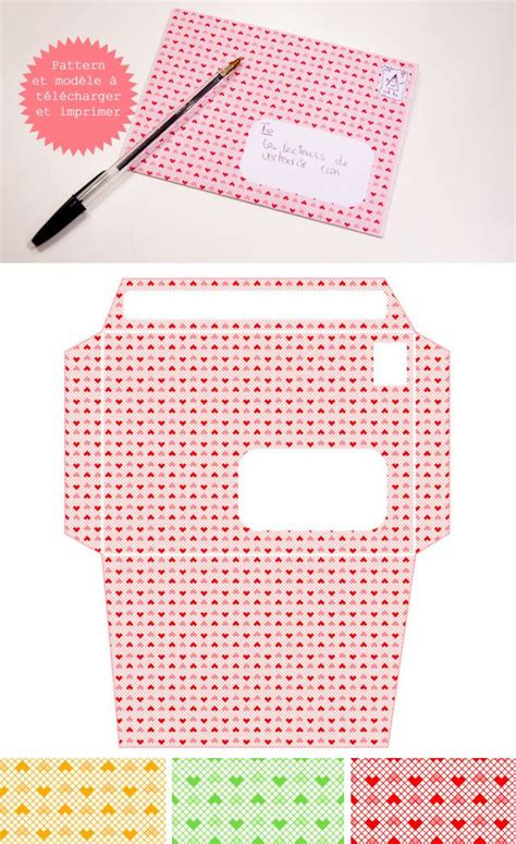 printable heart envelope envelope templates heart patterns and envelopes on pinterest