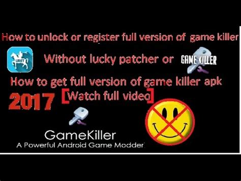 power full version by lucky patcher how to register full game killer apk without lucky patcher