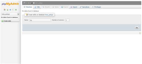 membuat database mysql lengkap berbagi ilmu cara membuat database mysql melalui phpmyadmin