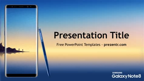 Free Samsung Galaxy Note 8 Powerpoint Template Prezentr Samsung Powerpoint Template