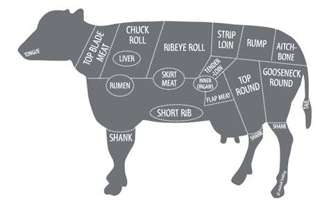 beef butcher diagram cow steak diagram best free home design idea