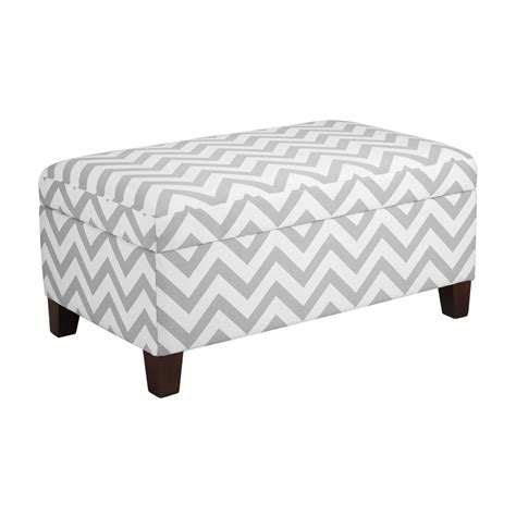 patterned ottoman dorel living wm4044 chevron patterned upholstered ottoman