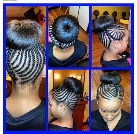 little kids hair braided into a bun natural kids hair braids bun baby hair style pinterest