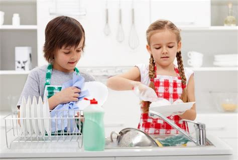 Research indicates sparing the chores, spoils children and