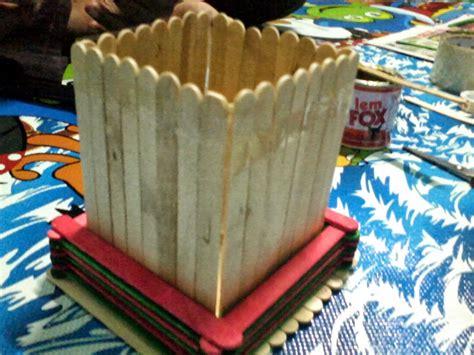 cara membuat tempat pensil dari stik es krim bisnis borneo cara membuat tempat pensil dari stik es kumpulan ide