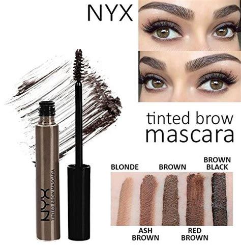 Nyx Eyebrow Mascara nyx tinted brow mascara black 0 22 oz dealtrend