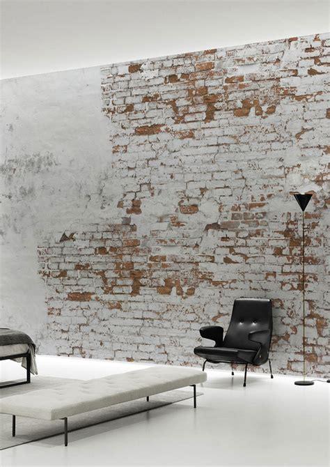 How To Make A Wall Mural plaster brick wall wallpaper mural by behangfabriek