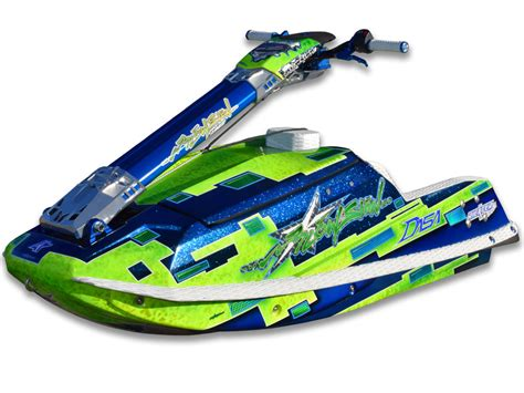 Jetski Rumpf Lackieren by Blowsion Skis For Sale