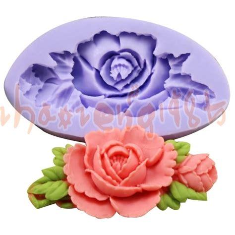 Cetakan Mold Fondant Resin Sabun Soap Clay Mini 3d Hydrangea Flower flower 1 cavities silicone mold mould for polymer