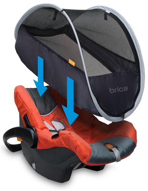 brica infant car seat comfort canopy com brica infant comfort canopy car seat cover baby