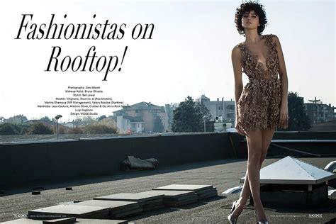 Tas Fashion Magazine fashionistas on rooftop mode lifestyle magazine