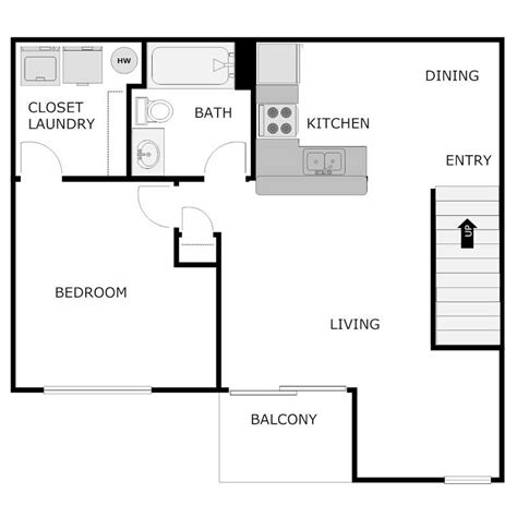 750 sq ft apartment 1 bedroom 1 bath apartment orchard estates