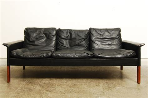 sorensen leather sofa three seat leather sofa by hans olsen chase sorensen