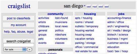 San Diego Craigslist