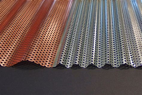 Awnings Supplier Perforated Acoustic Sheet By Ripple Iron Selector