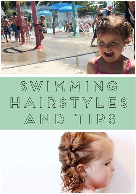 Hairstyles For Swimming by Swimming Hairstyles And Tips Thirty Handmade Days