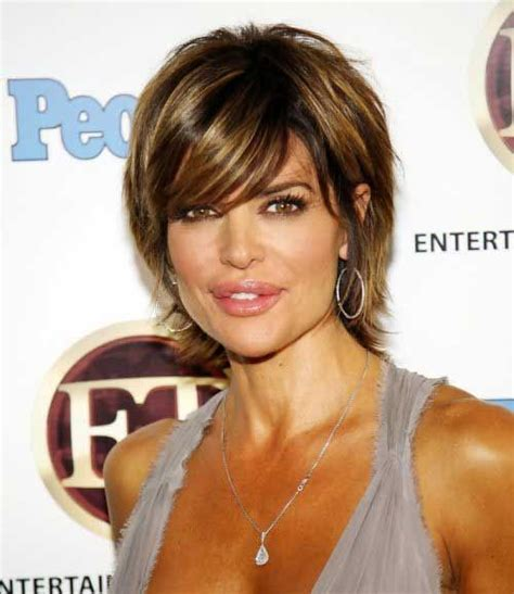 does lisa rinna have thick hair 25 best ideas about short layered hairstyles on pinterest