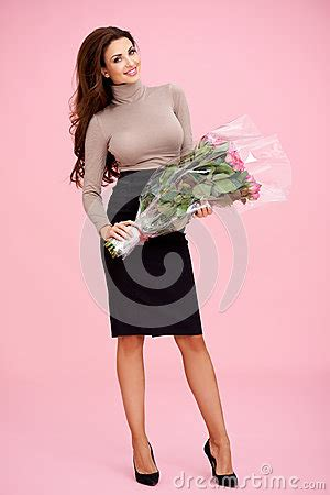 gifts for her archives stylishly beautiful beautiful stylish woman with roses royalty free stock