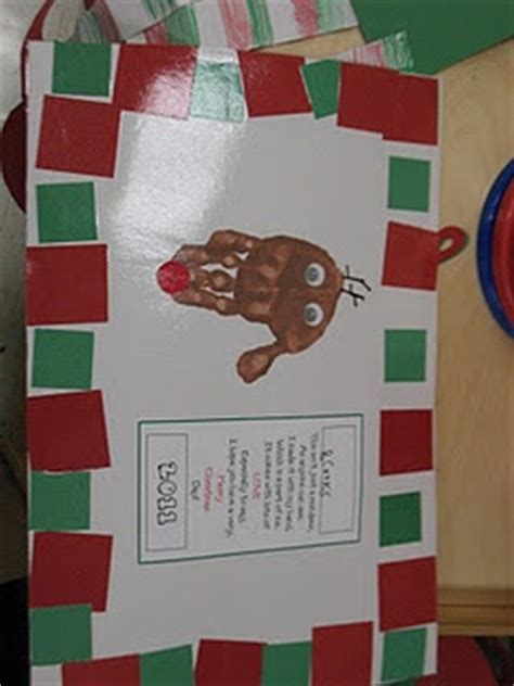 xmas craft 2nd grade reindeer placemat so 2nd grade ideas december crafts and sweet