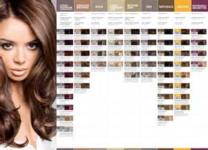 hair color list hair color charts to choose best shade for your hairs