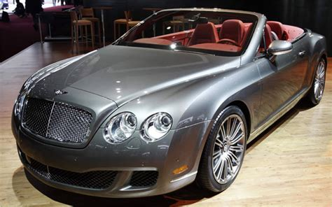 Bentley Sport Car Convertible Latest Auto Car