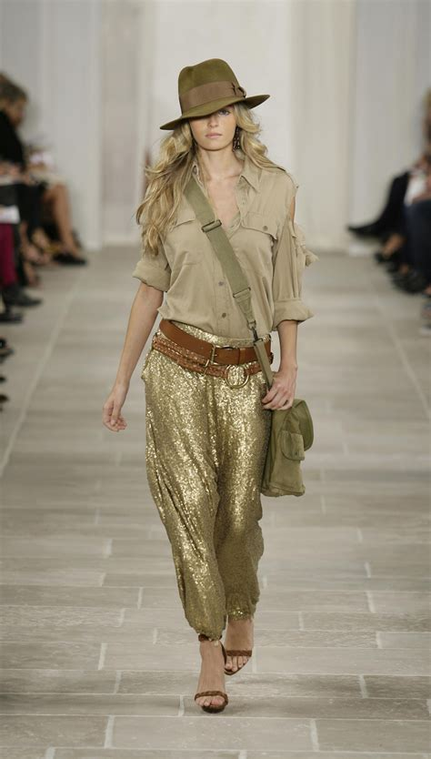 Summer 08 Trends Safari The Catwalk Looks by Ralph Summer 2009 2017 187 Fashion