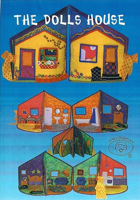 free pattern doll house doll houses dolls and fabric dolls on pinterest