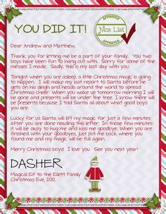 printable elf on the shelf return letter free elf on the shelf letter border return google search