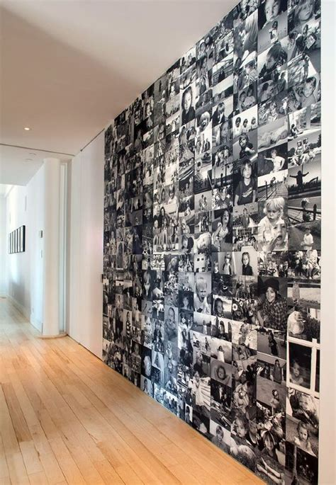 decorar pared con fotos familiares ideas para decorar la pared con fotos familiares 4