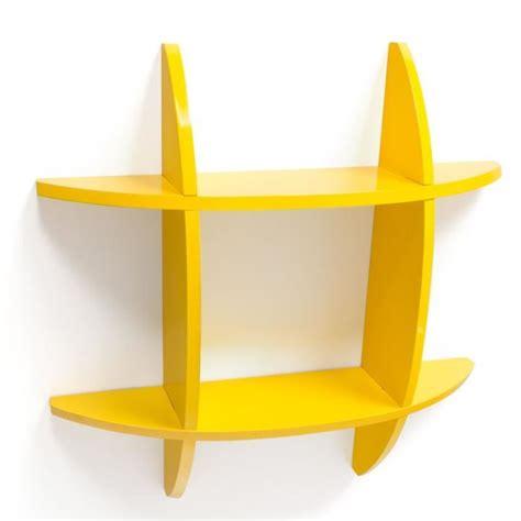 etagere jaune 201 tag 232 re cube murale biblioth 232 que jaune achat vente