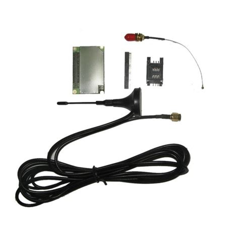 Modul Sim300c Include Antenna Socket Sim Card Connector Pigtail Sim300c Gsm Gprs Module Include Antenna Sim Card
