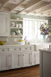 painted beadboard backsplash cottage kitchen bhg cottage kitchen backsplash ideas french country cottage