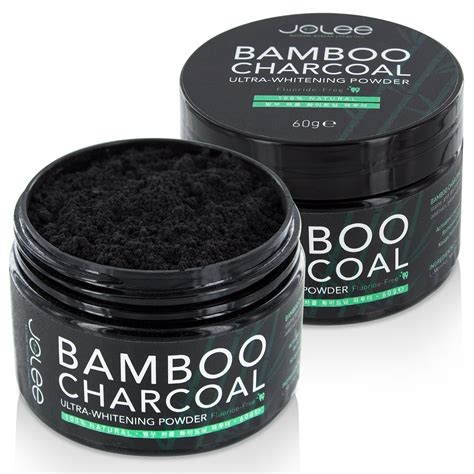 jolee bamboo activated charcoal teeth whitening powder