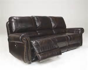 Lowest Price Sofa Ashley Furniture Signature Design Dexpen Saddle Reclining Sofa