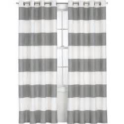 Grey Striped Curtains How To Paint Curtains Infarrantly Creative