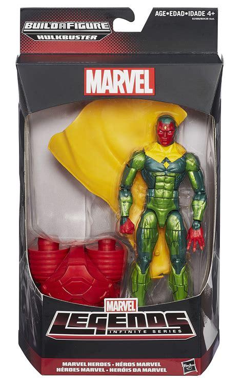 Vision Comic Version Marvel Legends Infinite Series Tinggi 6 Inch marvel legends hulkbuster wave ratios pre order marvel news