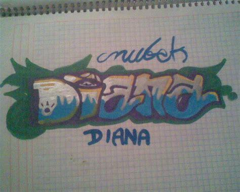 imagenes que digan diana te quiero diana graffiti imagui