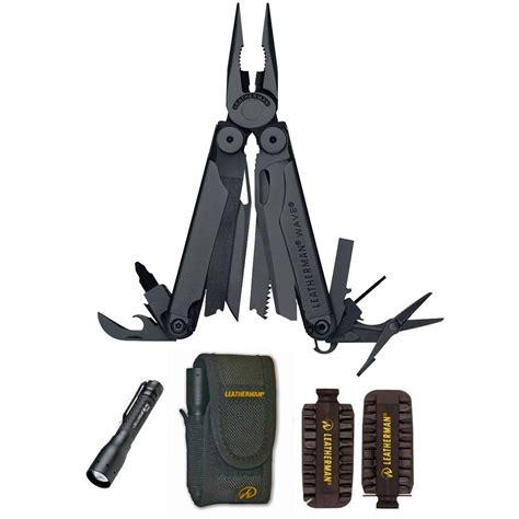 Kitchen Knives To Go Leatherman Wave Black Bit Kit Led Lenser P3 Afs