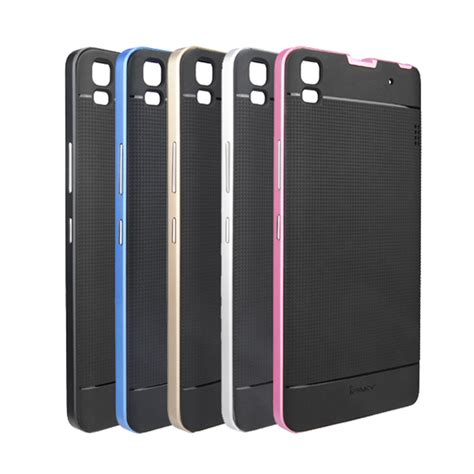 Lenovo A7000 Plus Hybrid Aluminium Bumper Thin Casing Armor ipaky hybrid pc frame soft rubber back cover for lenovo k3 note a7000 ebay