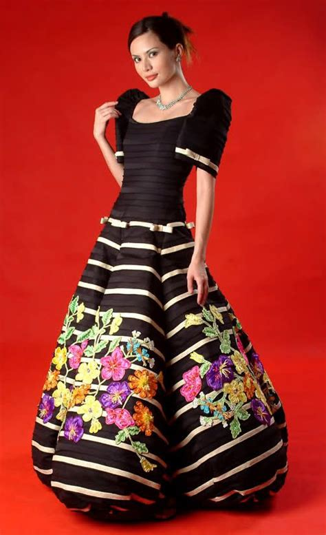 traditional filipino hairstyles 43 best ideas for filipiniana style dress images on