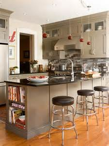 Taupe Kitchen Cabinets Taupe Kitchen Cabinets And Red Pendant Lights For The